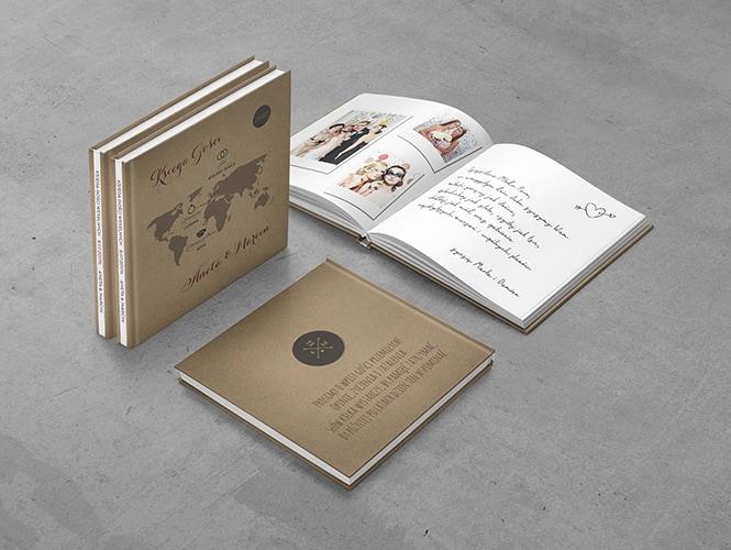 Księga Gości Rustykalna Podróż
