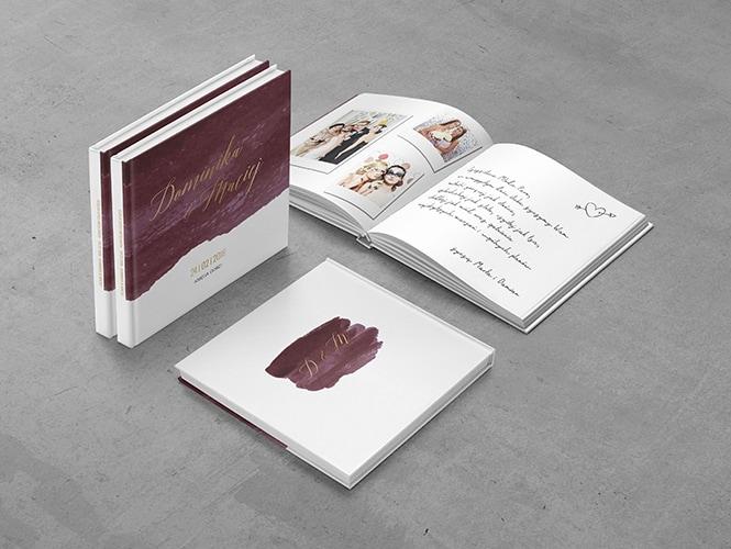 Burgund Księga Gości