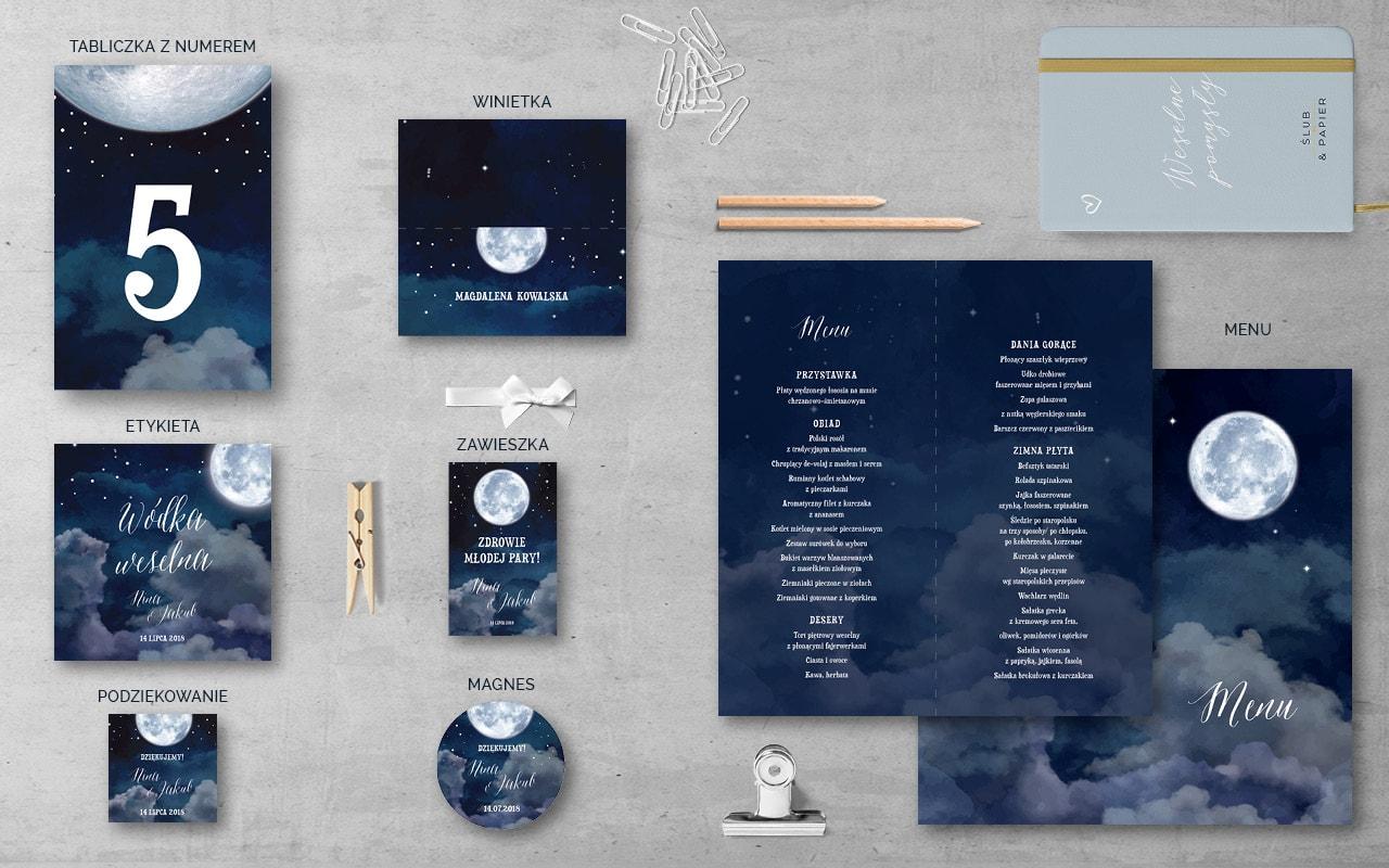 Dodatki Księżyc Nocą
