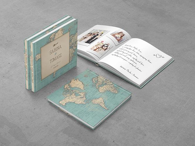 Podróż Vintage Księga Gości