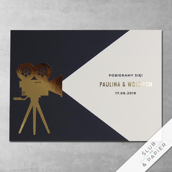 Zaproszenia ślubne Kino