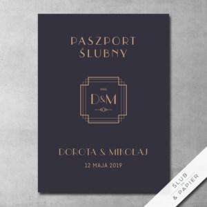 Zaproszenia ślubne paszport weselny