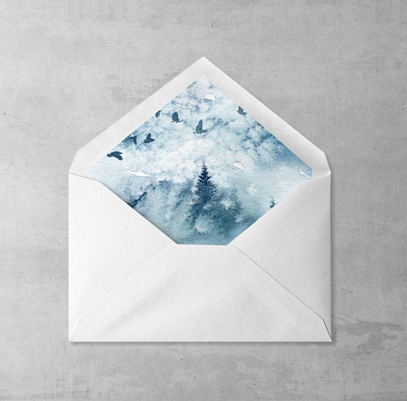 Zimowy Pejzaż Wklejka