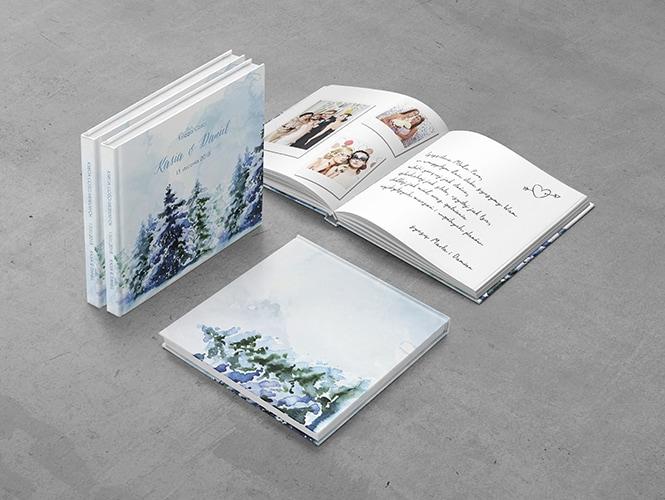 Księga Gości Zimowy Las