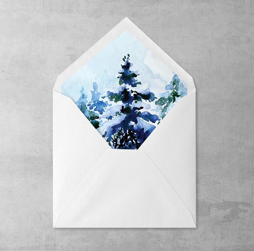 Zimowy Las Wklejka