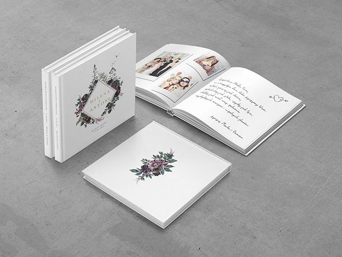 Kwiaty i paprocie Księga Gości