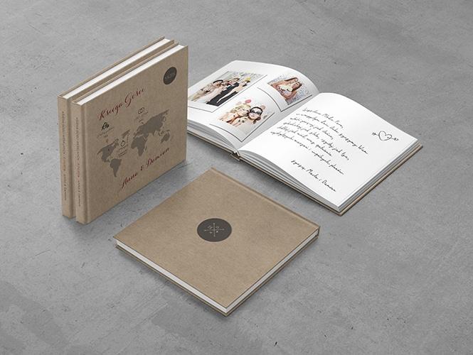 Rustykalna podróż Eko Księga Gości