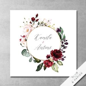 ślub Papier Zaproszenia ślubne