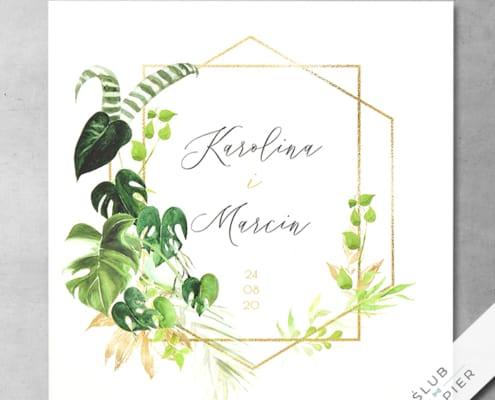 Akwarelowe liście - zdjęcie