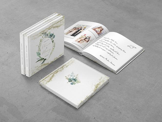 Księga gości do projektu Kwiatowy Pył