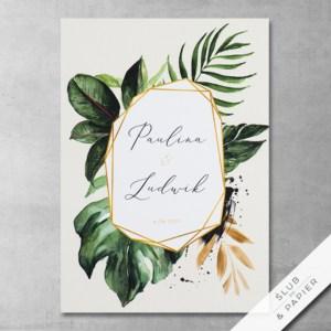Projekt Tropikalne liście