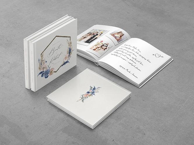 Księga gości do projektu Kwiaty orchidei