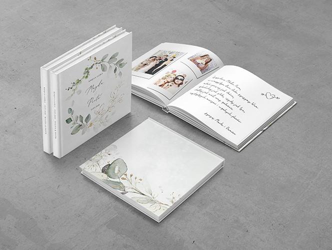 Księga Gości weselnych do projektu Miętowy eukaliptus