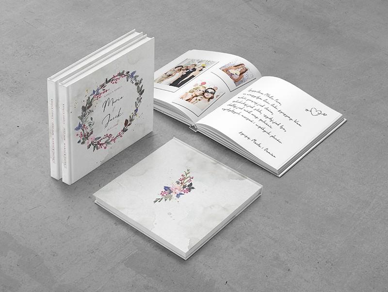 Akwarelowy wianek - Księga gości