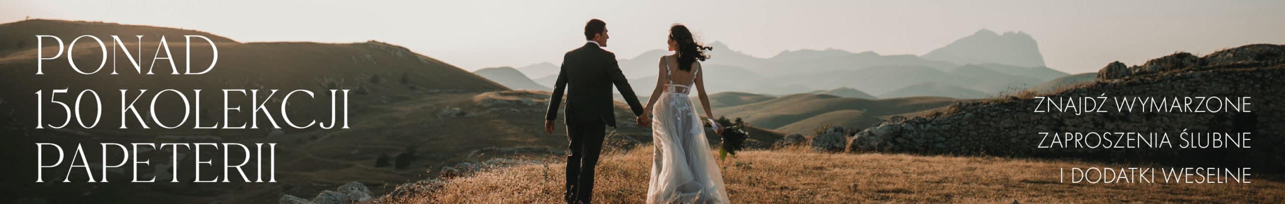 Ślub i Papier - wybierz swoje wymarzone zaproszenia ślubne i dodatki weselne