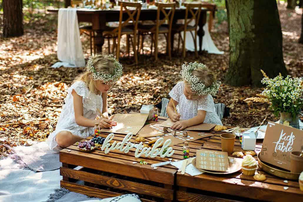 Zestaw gier dla dzieci na wesele