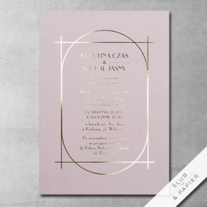 Zaproszenia ślubne Balowe
