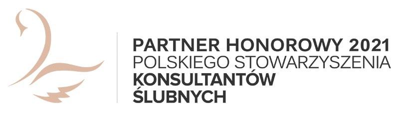 Partner honorowy 2021 Polskiego Stowarzyszenia Konsultantów Ślubnych