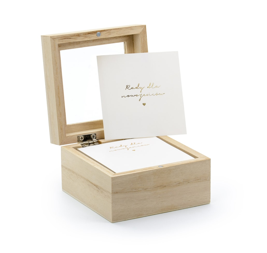 Pudełko na porady dla Młodej Pary