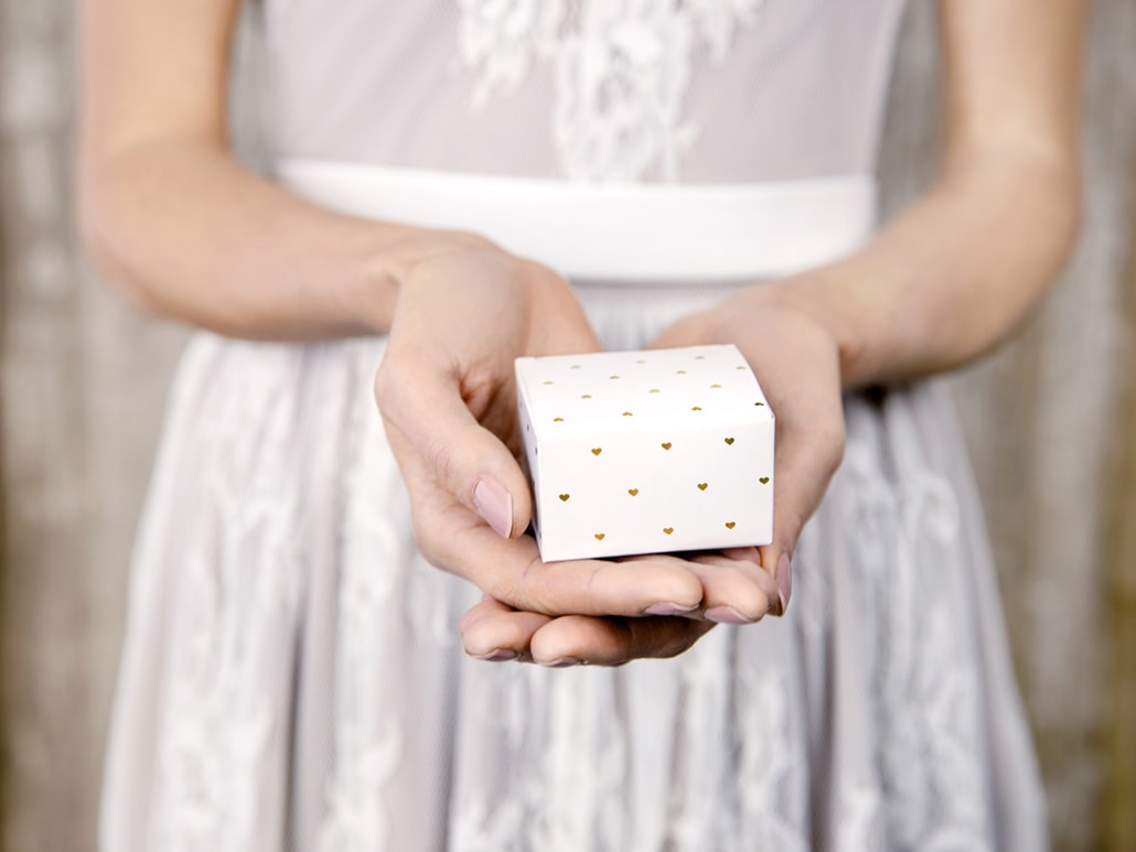Pudełko na upominki dla Gości weselnych