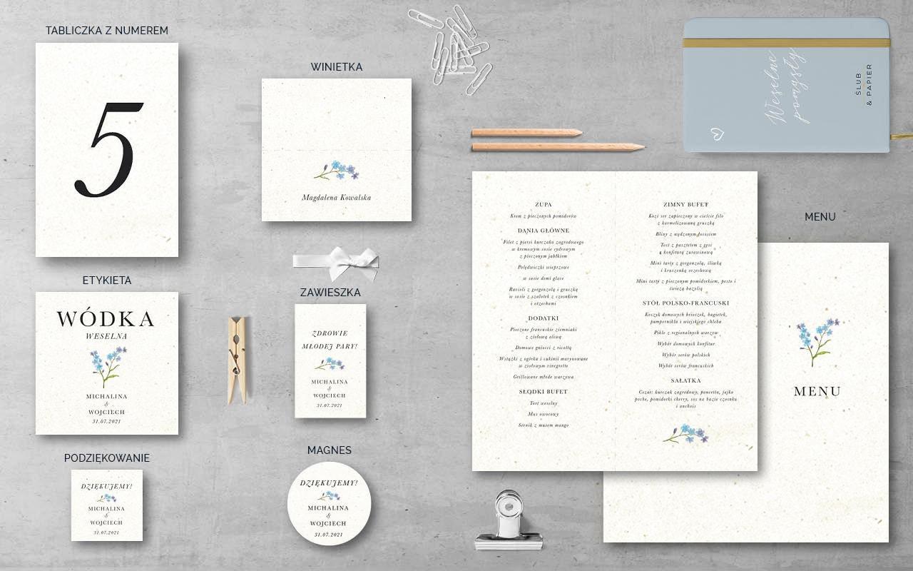 Niezapominajki2 - Dodatki weselne