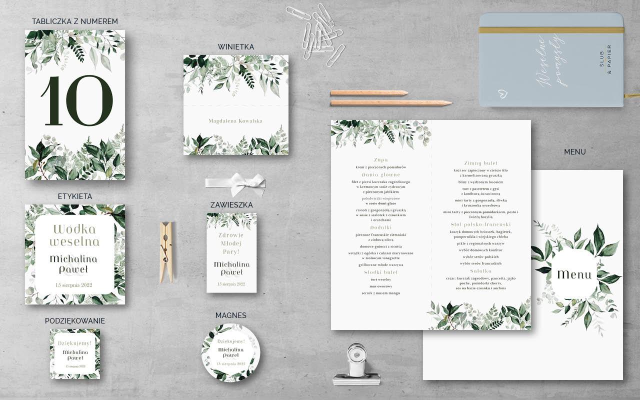 Ogród botaniczny - Dodatki weselne